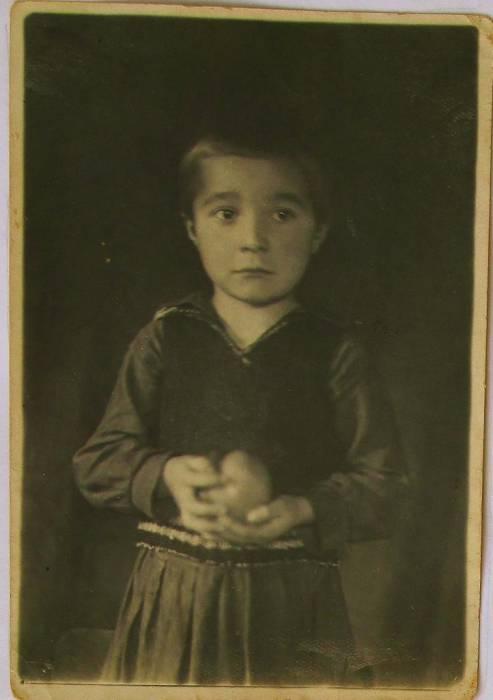 Валянціна Вісарыёнаўна Кілбаска (г. нар. 1931).<br>З сямейнага альбома  Валянціны Вісарыёнаўны Кілбаска.