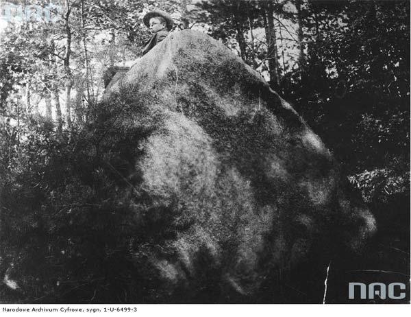 Majątek w Tuhanowiczach.<br>Kamień Filaretów.<br>Data wydarzenia: 1910 - 1915