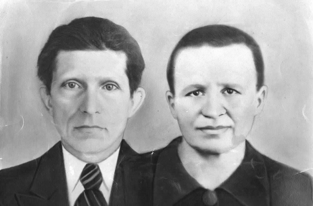 Мелеховец Андрей Яковлевич и Мелеховец Прасковья Андреевна