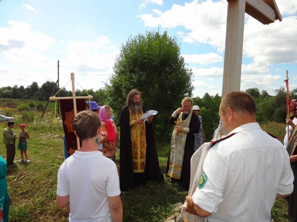 деревня Жуково 1 Традиционный Езерищенский крестный ход