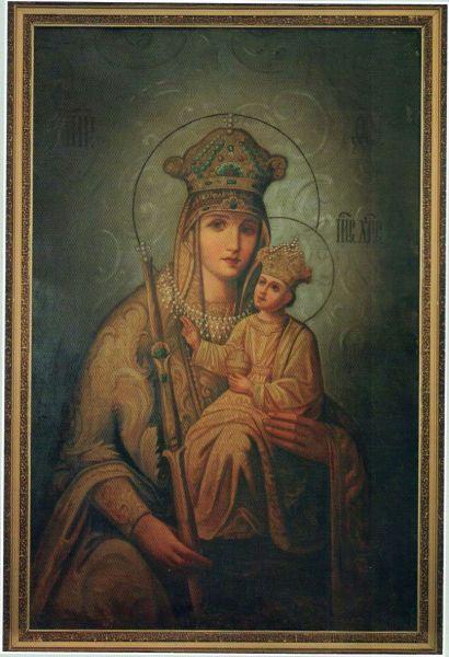 Общехристианская святыня. Икона Богородицы