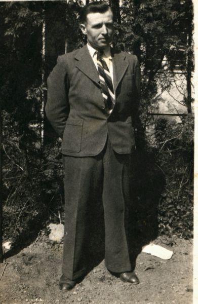 Michał Wienckowski - mój wujek.<br>Pochodził z Żupran.