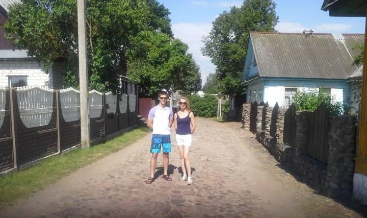 Раков. Улица 8 марта. Одна из немногих в Ракове не пострадавших во время войны. Сохранились старые раковские дома довоенной застройки. Из всех раковских улиц эта действительно стоит того, чтобы по ней пройтись - воистину старый Раков!