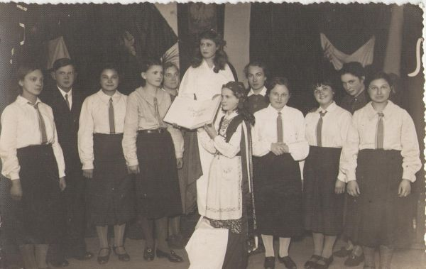 Święto 3 Maja w szkole w Postawach