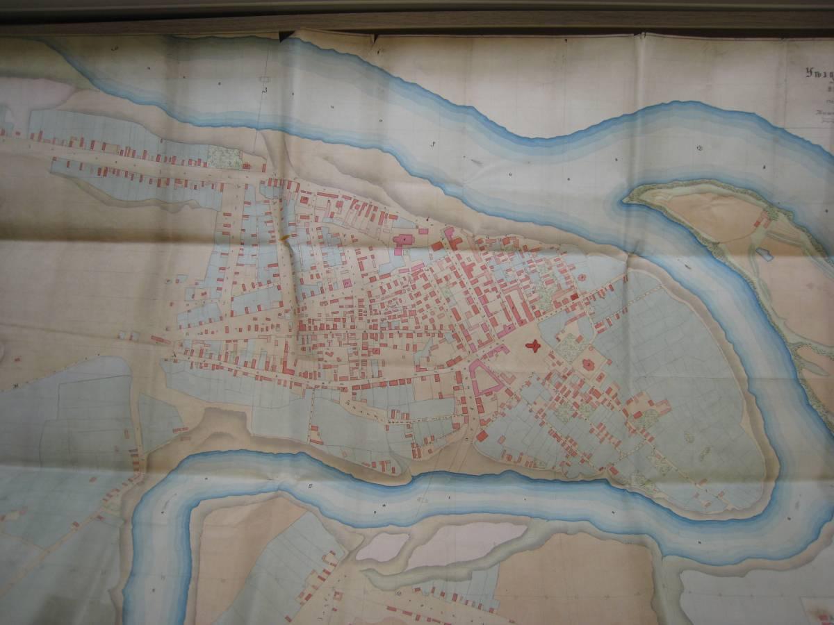 Plan miasta Dzisna rok 1867