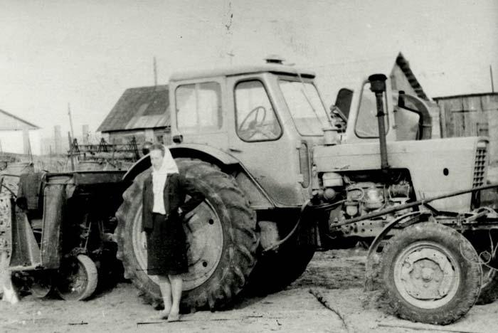 Куніцкая Н., будучы Герой Сацыялістычнай Працы<br>Фота 1971 г.