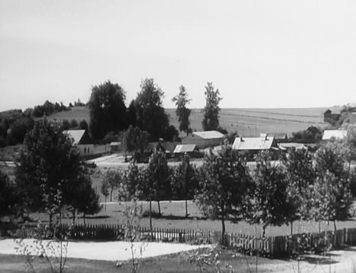 Лагаза (цэнтр), погляд з канторы.