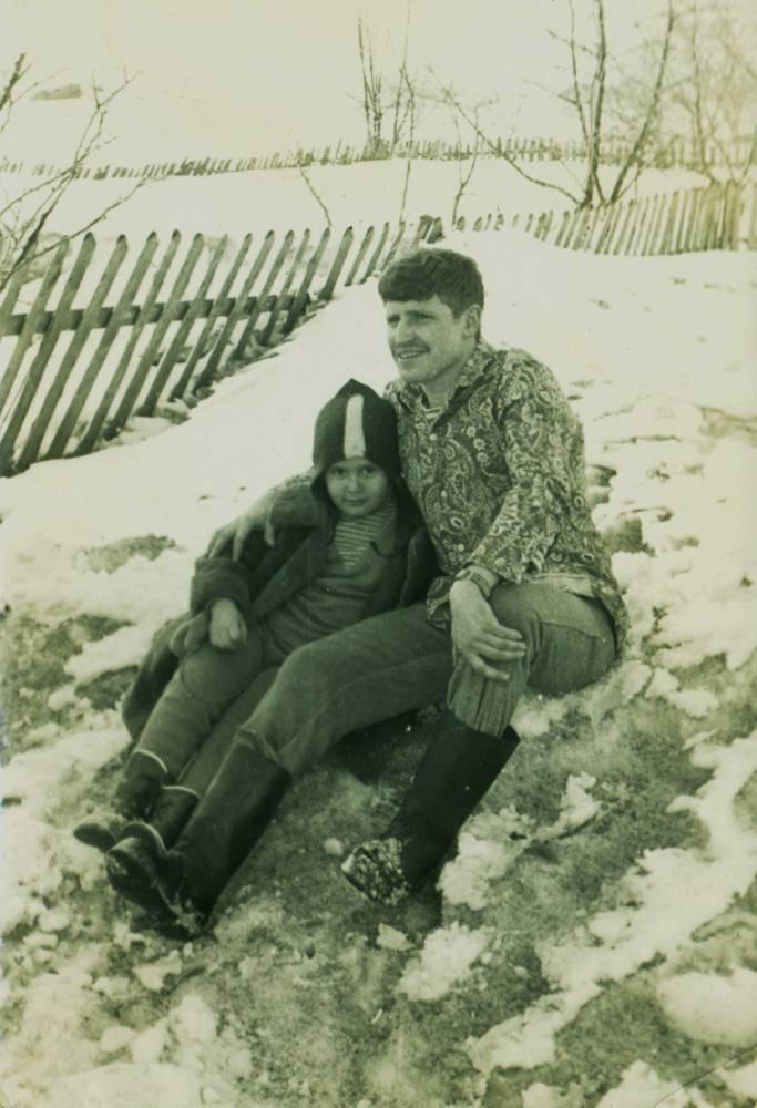 Такі тады быў снег на Новы 1974 год...