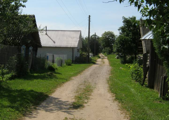 Старая вуліца Сліжына...