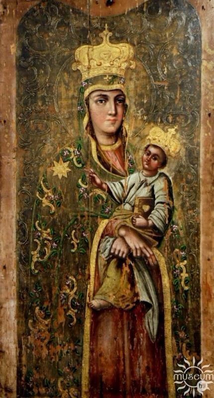 икона Пресвятой Богородицы Снежная <br>из Остроглядовского костёла