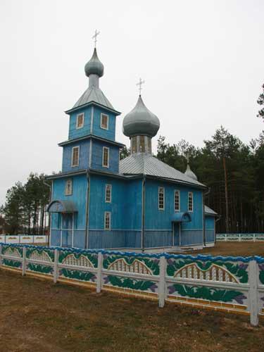 Царква ў Лышчы<br>Фота 03.04.2010