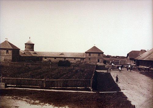 Folwark Murowanka<br>Fot. Józef Boretti. 1894