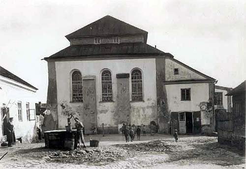 Nieśwież. Synagoga Wielka