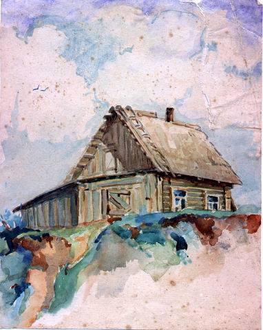 Рисунок художника Евгения Самотыи
