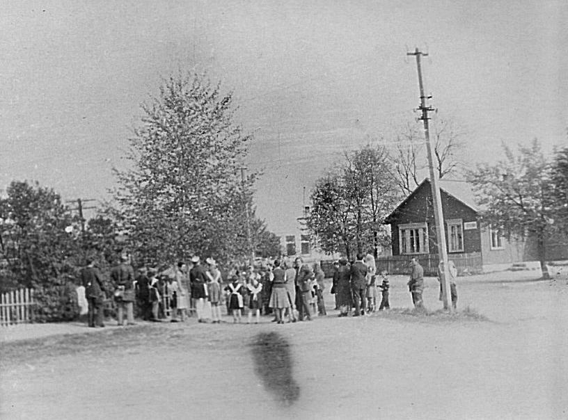 Митинг в деревне Савичи