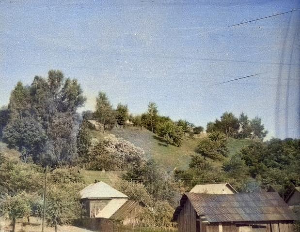 вид на деревню Юровичи