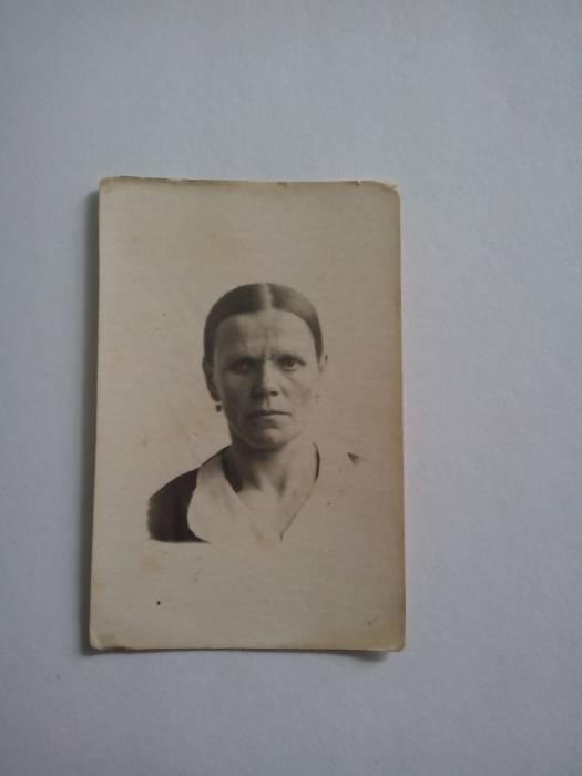 Моя бабушка Феодора Онуфриевна Андреюк
