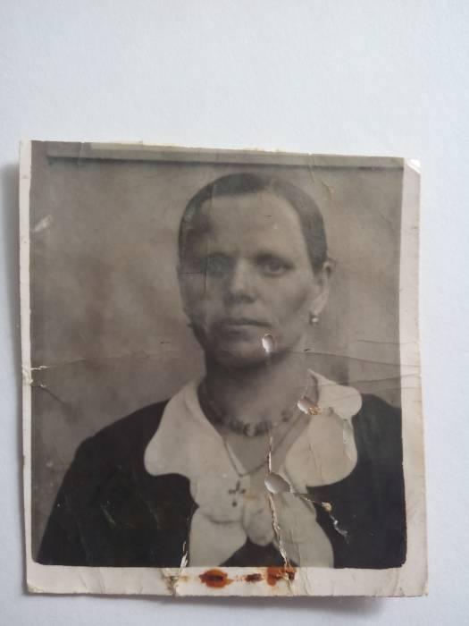 Моя бабушка Феодора Онуфриевна Андреюк (девичья фамилия Остапчук)