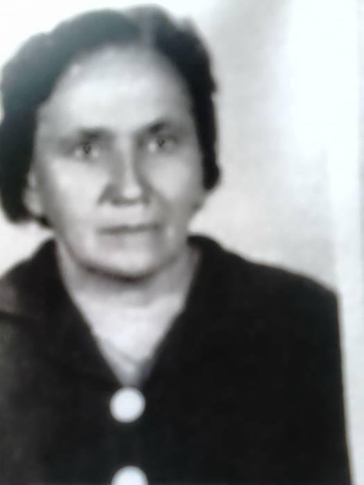 Natalia Begiert -Begert z domu Szczypior * 1914