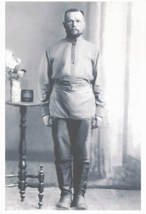 Ефрем Григорьевич Зеньков. Рига.