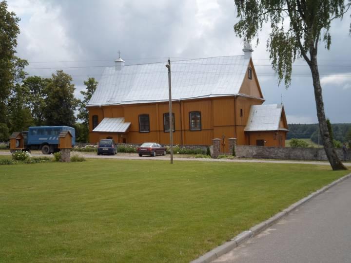 Kościół w Gudogajach