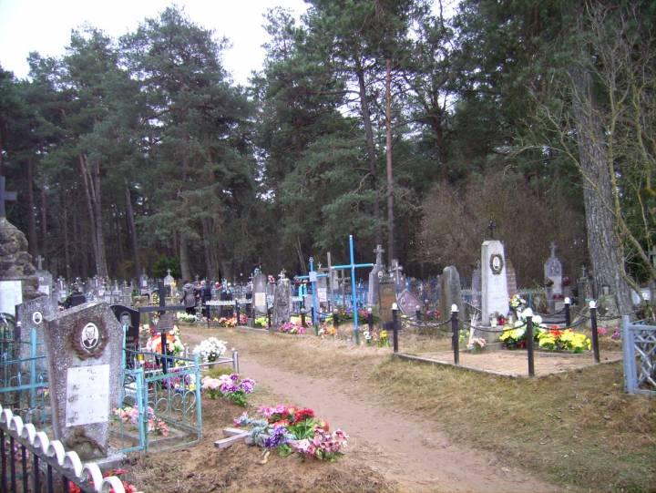 Fragment naszego cmentarza.