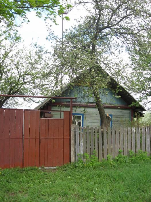Дом, в котором проживала моя прабабушка Свиридова Анна Романовна и, где прошло детство моего отца