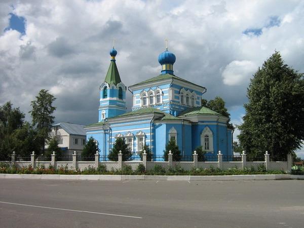 Покровская церковь Иоанно-Кормянского монастыря 1832 года постойки
