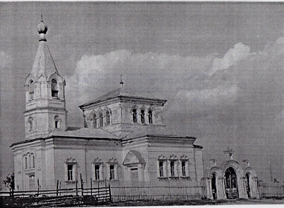 Кормянская  церковь Покрова Пресвятой Богородицы 1907 года постройки