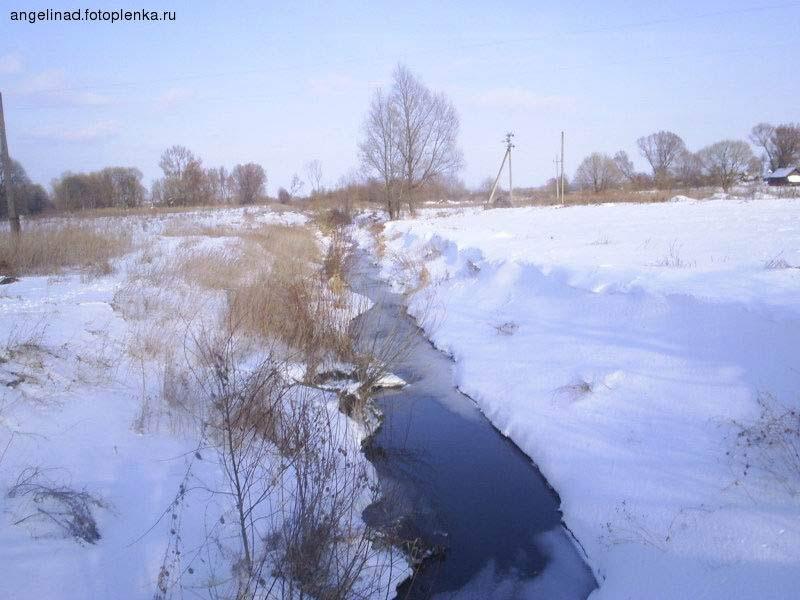 Река Чечера (Грязливец), приток Хоропути, исторически разделяющая две деревни: Огородню Гомельскую, в которой проживали старообрядцы, и Огродню Кузьминичскую, в которой проживали православные