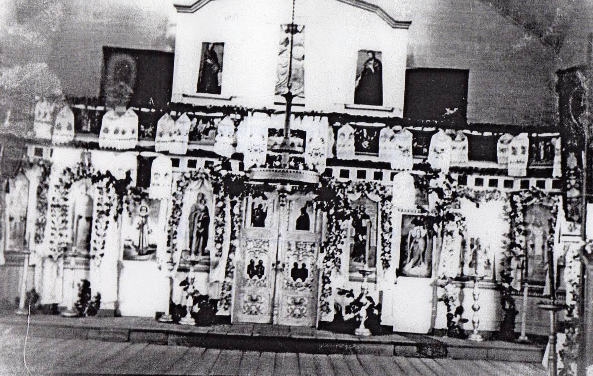 Старокрупецкая церковь Святой Троицы 1830 года постройки