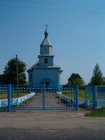 Łunin.Cerkiew pw.Borysa i Gleba