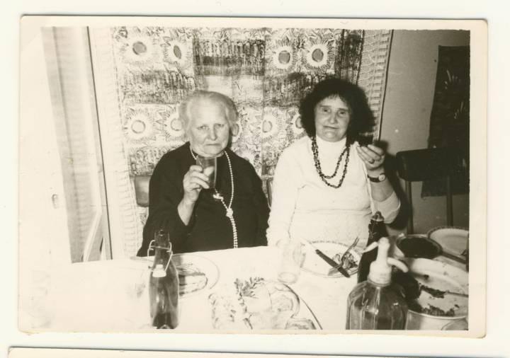 Dawne mieszkanki wsi Łunin Pani Ksenia Żukowa siostra Pani Franciszki Nowotnej.Fot.wyk w 1948r. już w obecnej Polsce.