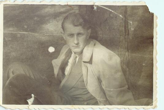 Rysiek Kamiński,może 1946r.