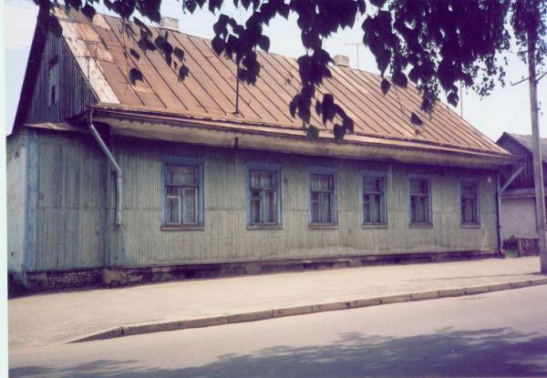 Pińsk.2003r.Ten dom przed wojna wyglądał zupełnie inaczej.