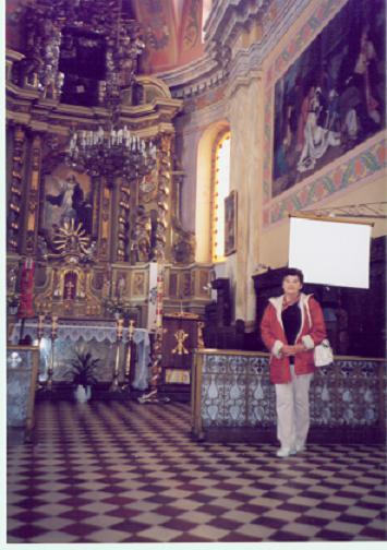 Pińsk.2003rOłtarz główny w Katedrze w Pińsku