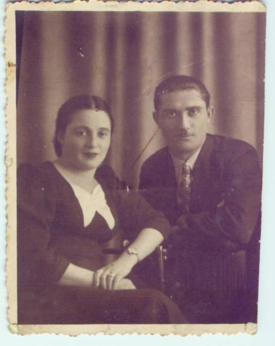 Znajomi mojej Pińskiej Rodziny.Może ktoś rozpozna to małżeństwo z Pińska.fot.z lat 30-tych ub.w.