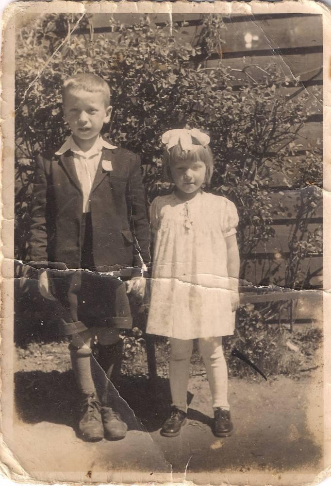 Pryhorowicz Jadwiga i Ryszard po przyjeździe do Polski