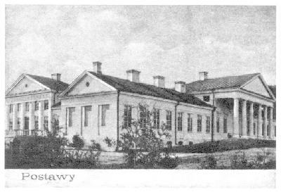 Palac w Postawach.