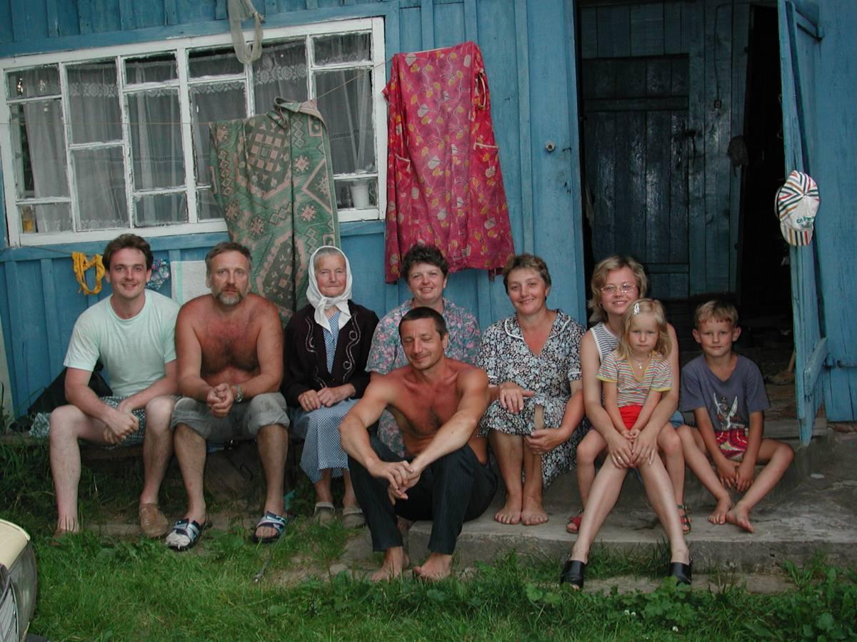 Дом и семья Лешковой (Козлова) Надежды