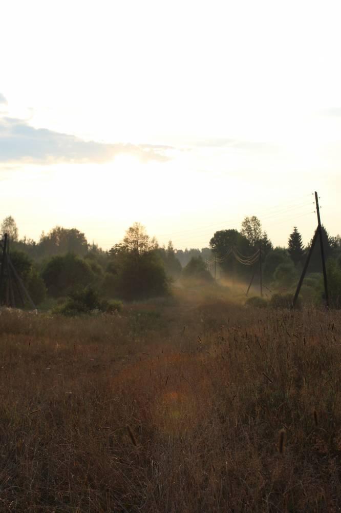 Вечер над деревней