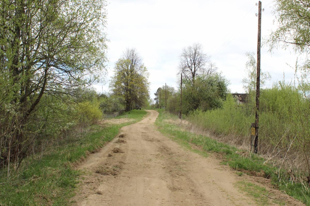 Главная (и единственная) улица деревни.