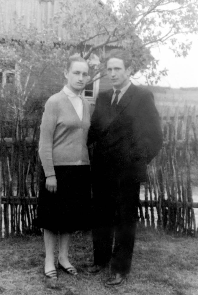 Дявго Дмитрий Константинович и супруга Ирина Викентьевна