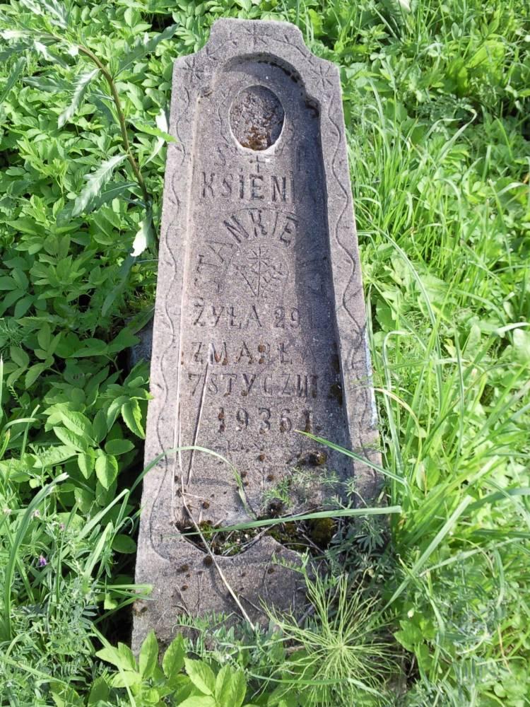 Cmentarz w Ilii - nabrobek, no właśnie może być mojej Babci. Czy gdzieś można znaleźć jakieś zapisy kościelne?