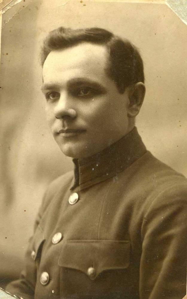 Голубев Иван Филимонович - мой дедушка, родился в 1902г. в деревне Стайки Витебской области