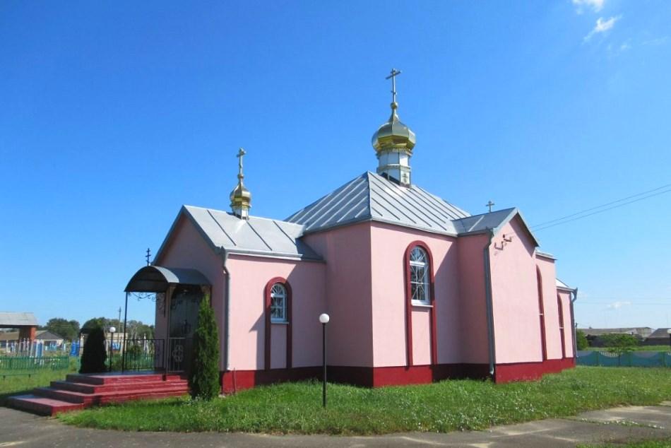Православная церковь Иоана Богослова, д. Корчицы.