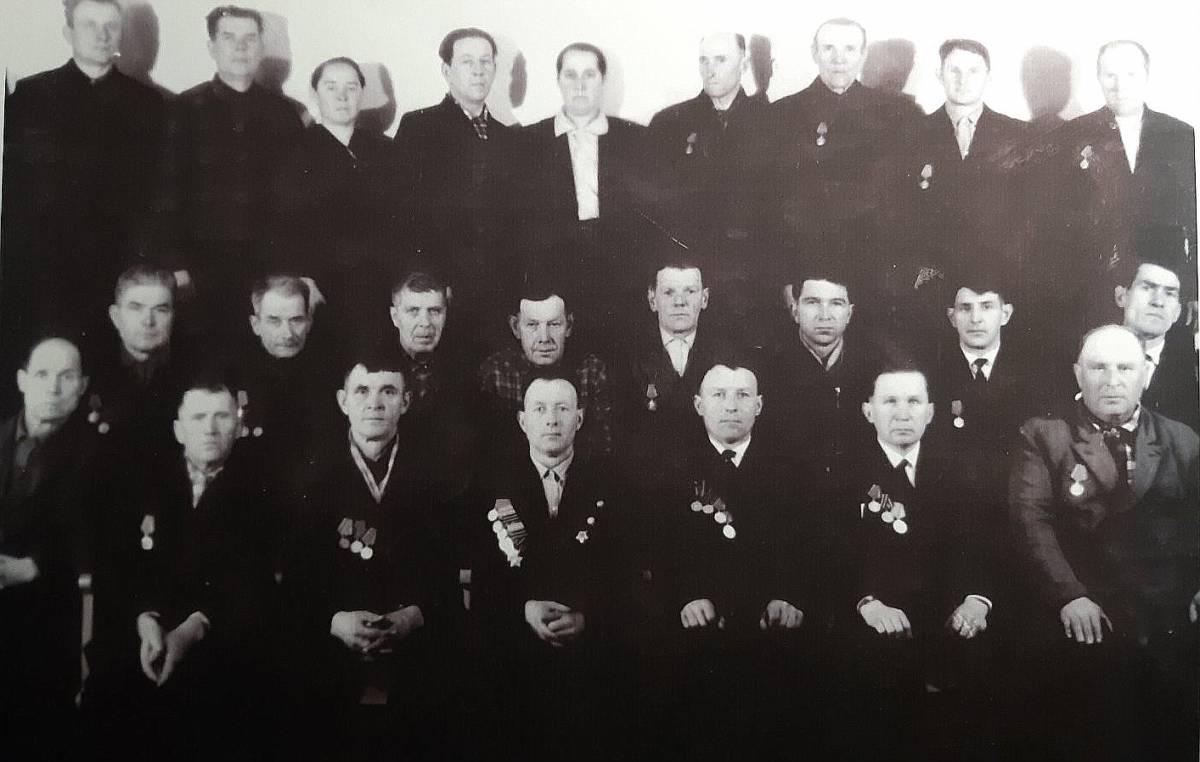 Ветераны ВОВ д. Ляхчиц и Корчиц.