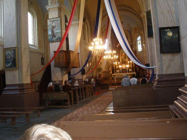 Kościół w Naczy.