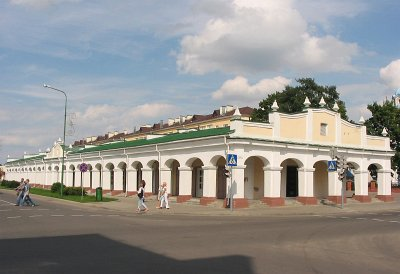 Prużana-traderows-торговые ряды<br>Foto http://globus.tut.by