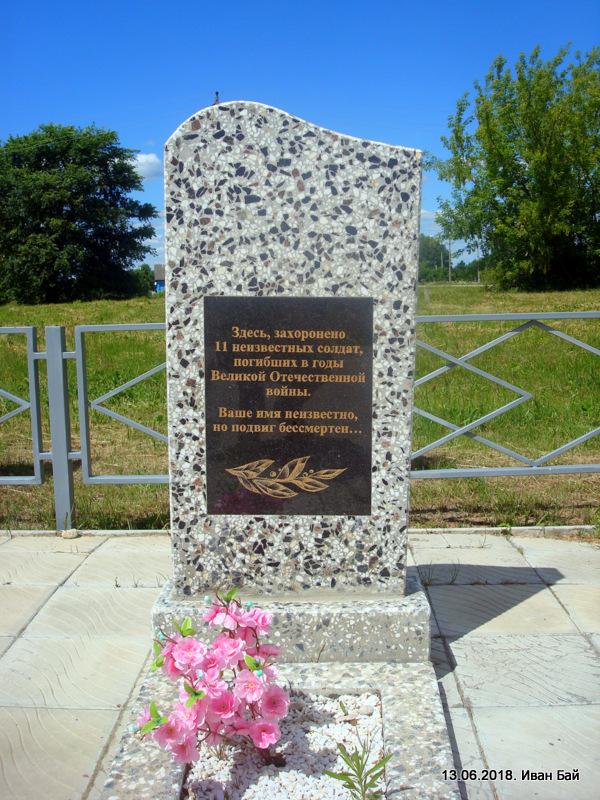 Памятник неизвестным